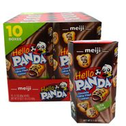 Meiji Hello Panda Chocolate Cookies 10 Count