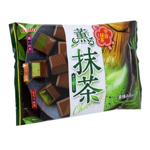Meito Uji Matcha Chocolate Assorted 4.78oz Bag