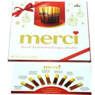Merci Finest Select Assorted Chocolates 8.8oz Box