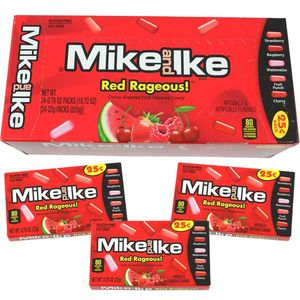 Mike and Ike Red Rageous 24 Count