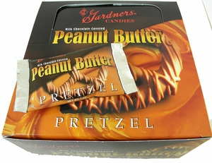 Milk Chocolate Covered Peanut Butter Pretzels 42ct