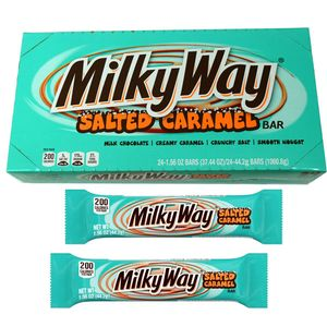 Milky Way Salted Caramel Bars 24 Count