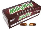Milky Way Candy Bar 36ct