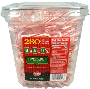 Mini Candy Canes 280ct