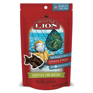 My Lil Lion Cat Treats Cod Fish 2.65oz Bag