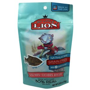 My Lil Lion Cat Treats Salmon 2.65oz Bag