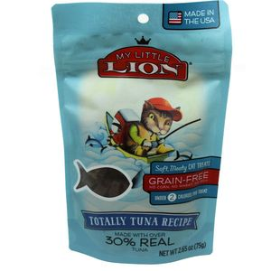 My Lil Lion Cat Treats Tuna 2.65oz Bag