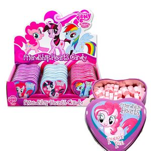 My Little Pony Candy Heart Tins 18 Count