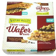 Nature Valley Wafer Bar Peanut Butter Chocolate 12 Count