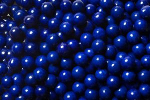 Dark Navy Blue Mini Chocolate Balls 2lb Sixlets