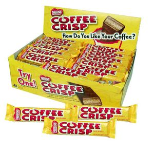 Nestle Coffee Crisp Bars 48 Count (Import)