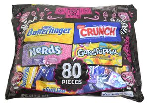 Nestle  Assorted Candy Mix 80 Count