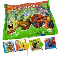 Nickelodeon Assorted Lollipops 112 Count