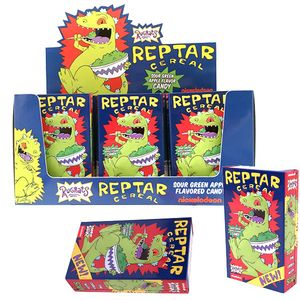 Nickelodeon Reptar Cereal Candy in Tins 12 Count