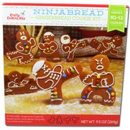 Ninjabread Gingerbread Cookie Kit