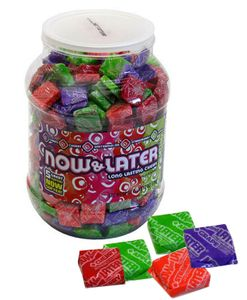 Now & Later Candy Chews 60oz (400 Count) Jar