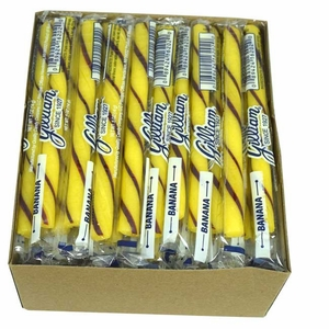 Old Fashion Candy Sticks Banana 80 Count - Gilliam