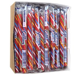 Old Fashion Candy Sticks Bubble Gum 80 Count - Gilliam