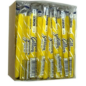 Old Fashion Candy Sticks Lemon 80 Count - Gilliam