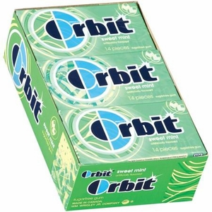 Orbit Sugarless Gum 12ct - Sweetmint