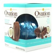 Ovation Creme De Coconut Milk Chocolate 6.17oz Ball