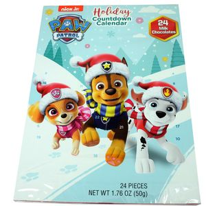 Paw Patrol Chocolate Advent Calendar