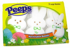 Peeps Large Bunny 3 Pack