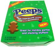 Peeps Milk Chocolate Mint Marshmallow Trees 24ct