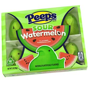 Peeps Sour Watermelon 10 Count