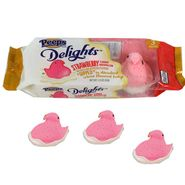 Peeps Strawberry Dips Creme 3PK
