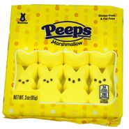 Peeps Yellow Bunnies 8 Count