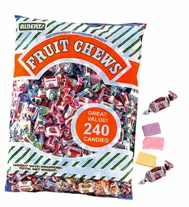 Assorted Fruit Chews 240 Count