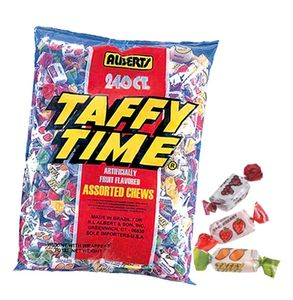 Taffy Time Candy Chews 240 Count