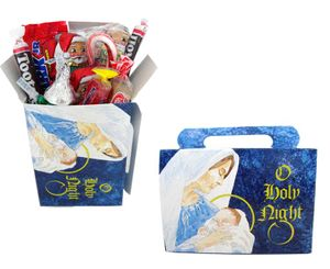 Personal Size Christmas Candy Treat  Adults General Mix - Religious