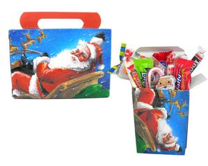 Personal Size Christmas Candy Treat Adults General Mix - Santa