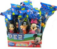 PEZ Candy With Dispenser 12ct - Disney Mickey
