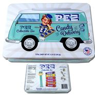 Pez Collectable Delivery Van Tin & Candy