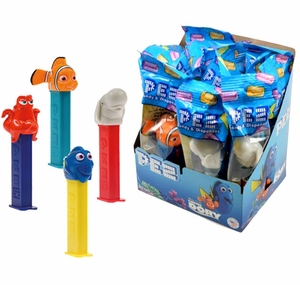Pez Finding Dory Candy & Dispenser 12 Count