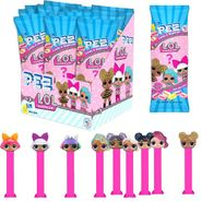 Pez LOL Surprise 12 Count