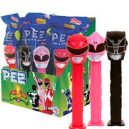 Pez Power Rangers