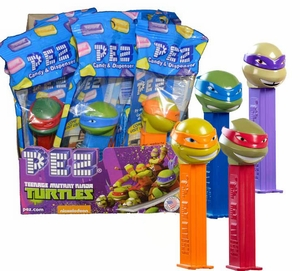 Pez Teenage Mutant Ninja Turtles 12 Count