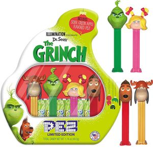 Pez The Grinch Gift Set
