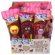 Pez Valentine's Day Dispensers & Candy 12 Count