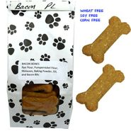 Poocheychef Bacon Dog Bones 22 Count (Wheat,Soy,Corn Free)