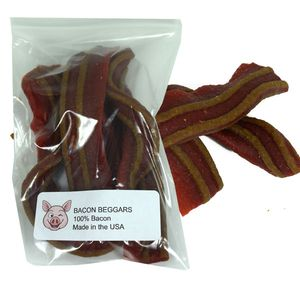 Poocheychef Bacon Strips Dog Treat 5 Count
