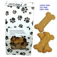 Poocheychef Oats/Apple Dog Bones 22 Count (Wheat,Soy,Corn Free)