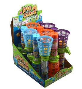 Pop & Catch Game With Lollipop 12 Count