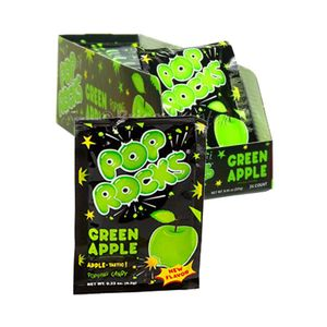 Pop Rocks Green Apple 24 Count