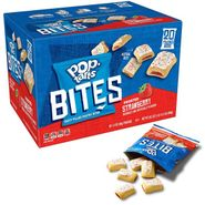 Pop Tart Bites Frosted Strawberry 20 Count