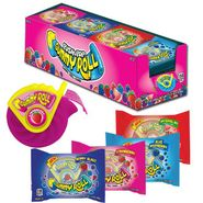 Push Pop Gummy Roll Candy 8 Count